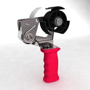tape equipment 3d model
