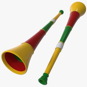 3d model vuvuzela
