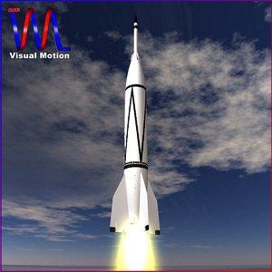 3d bumper rocket wac