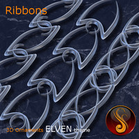 Ribbons Elven 3D Ornament
