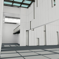 modern architecture 3ds