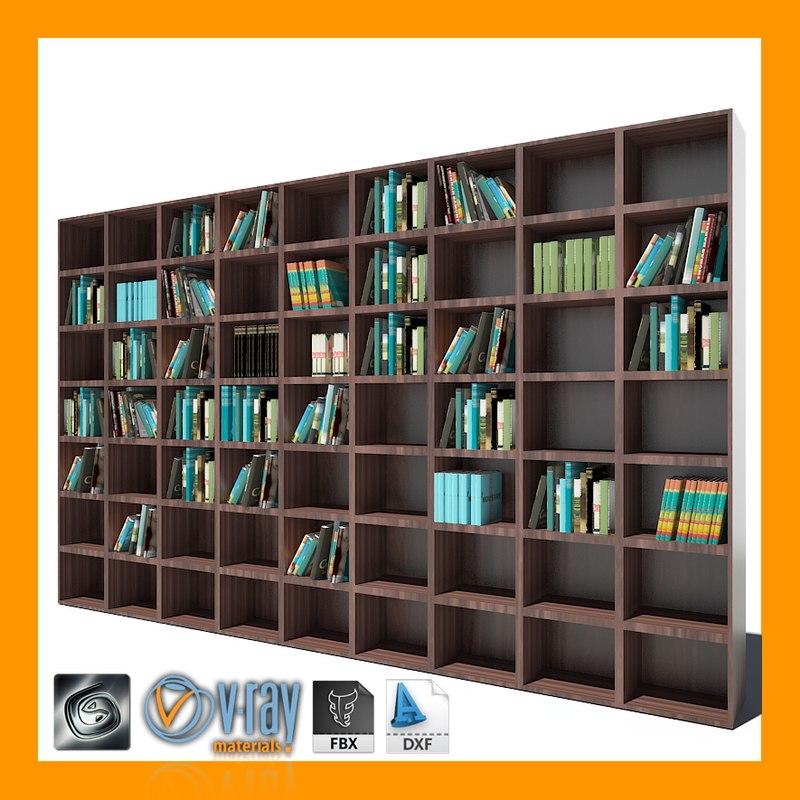max wood bookcase