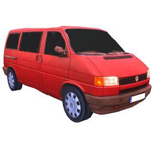 3d classic multivan van