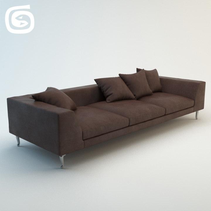 zliq sofa 3d obj