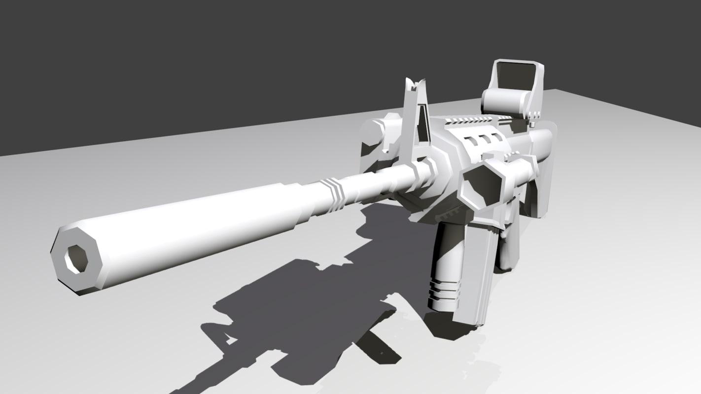 maya medium m4 rifle