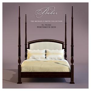 3d bed baker model