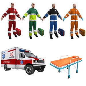 3d paramedic medic