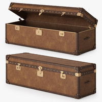 3d mayfair steamer trunk model