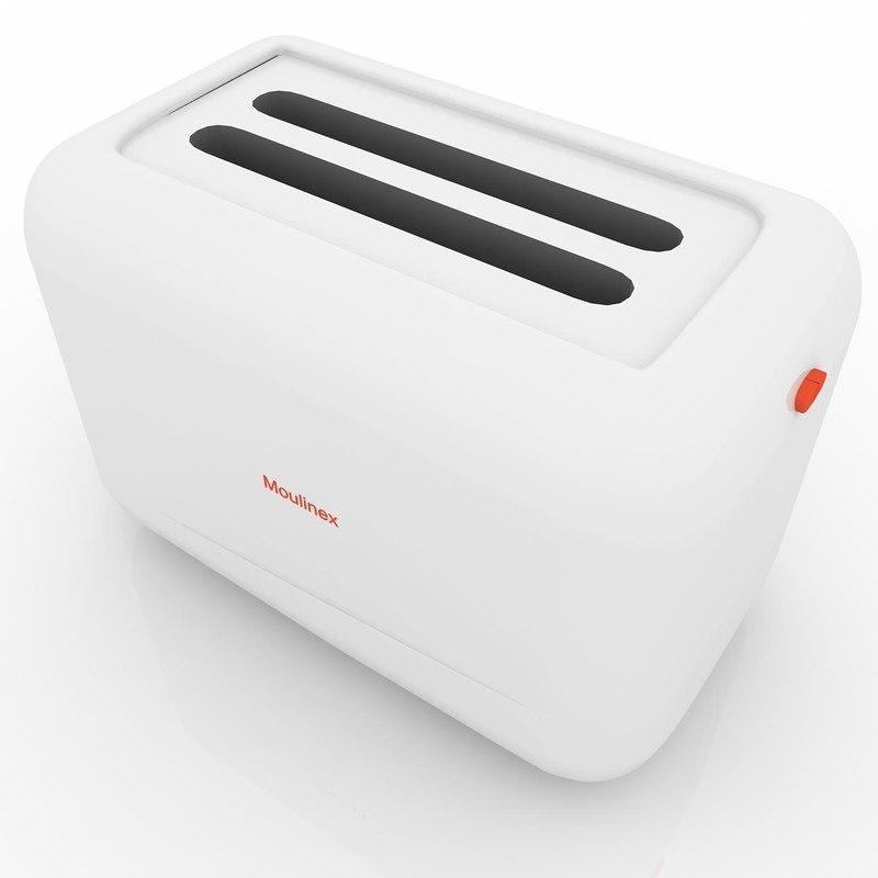 3dsmax toaster moulinex