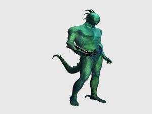 lizard-man lizard max