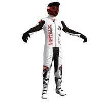 3d model dirt bike rider