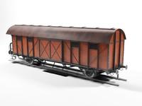 Unio Railway Boxcar