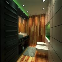 3dsmax bath room