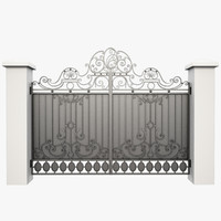 Wrought Iron Gate 26