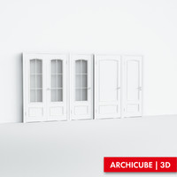 doors classic 3d model