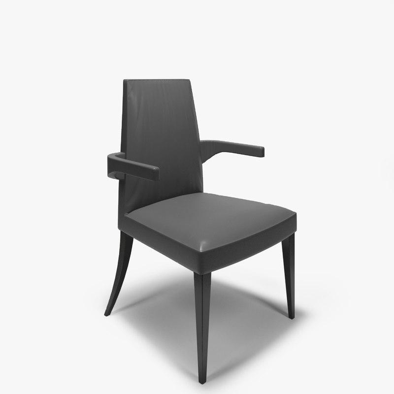 baker paparazzi chair 3d model