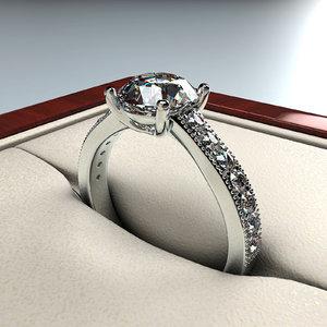 3ds max wedding ring
