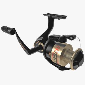 fishing reel 2 3d model