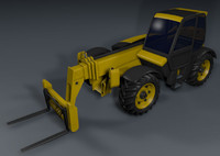 Forklift loader all terrain