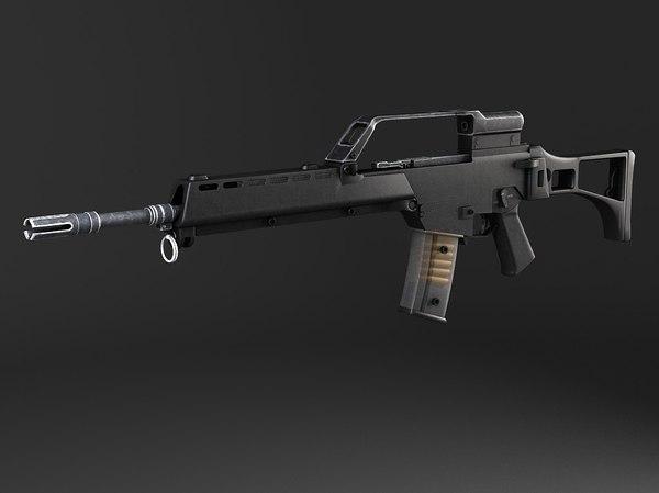 max rifle assault heckler