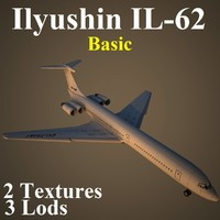 3d model ilyushin basic