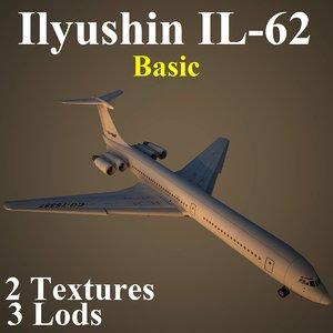 3d model ilyushin basic