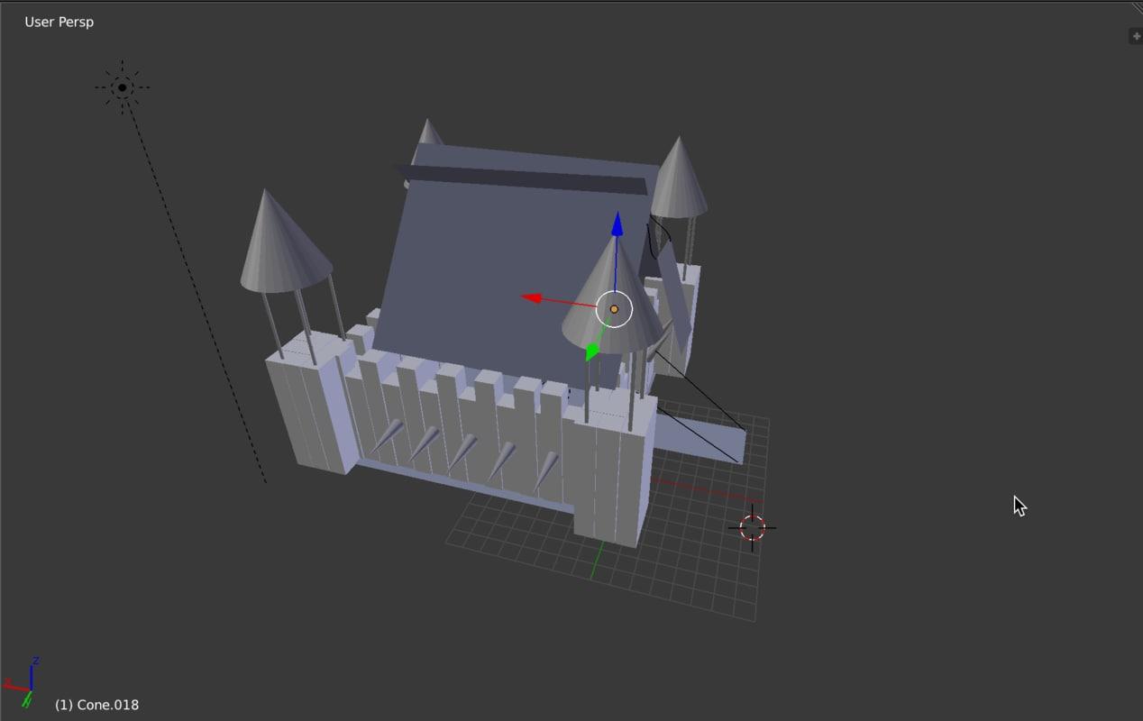 3d great castle