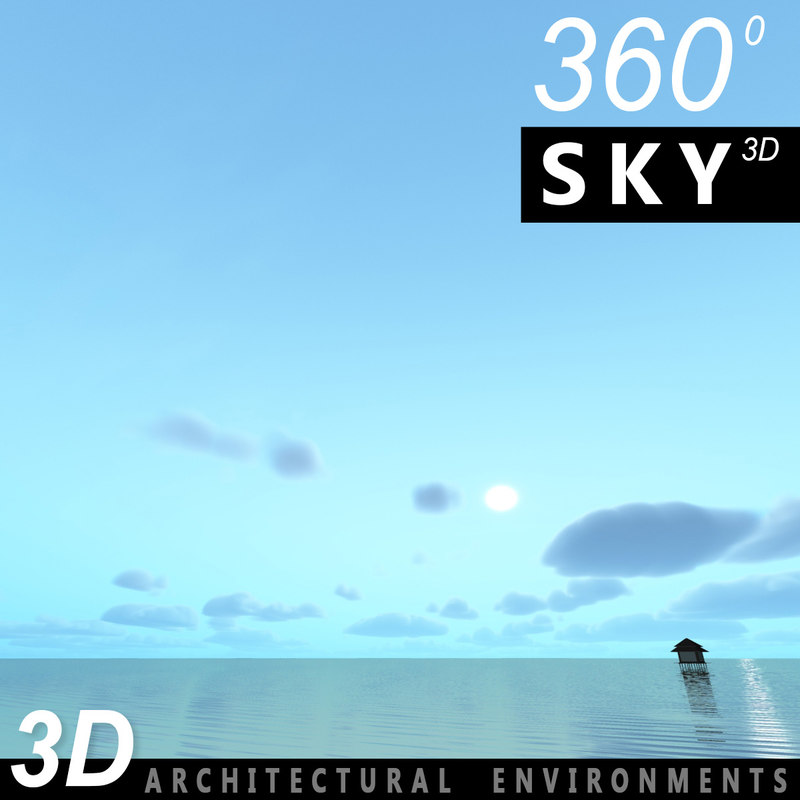 sky clouds 3ds