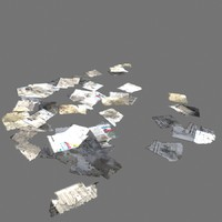 scattered papers