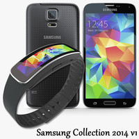 3d samsung galaxy s5 model