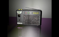 philips 132 electronic radio