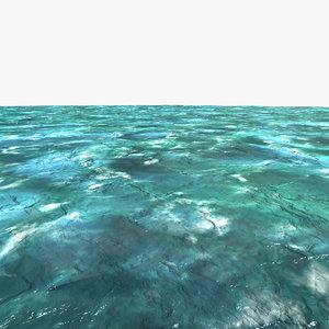 ocean water v-ray version c4d