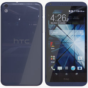 3d htc 816 model