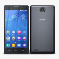 Huawei Honor 3C & 3C 4G Black