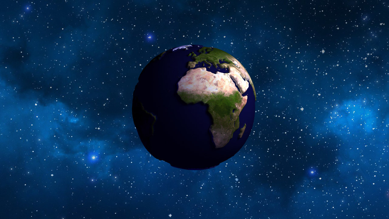 3ds max planet earth bumpy