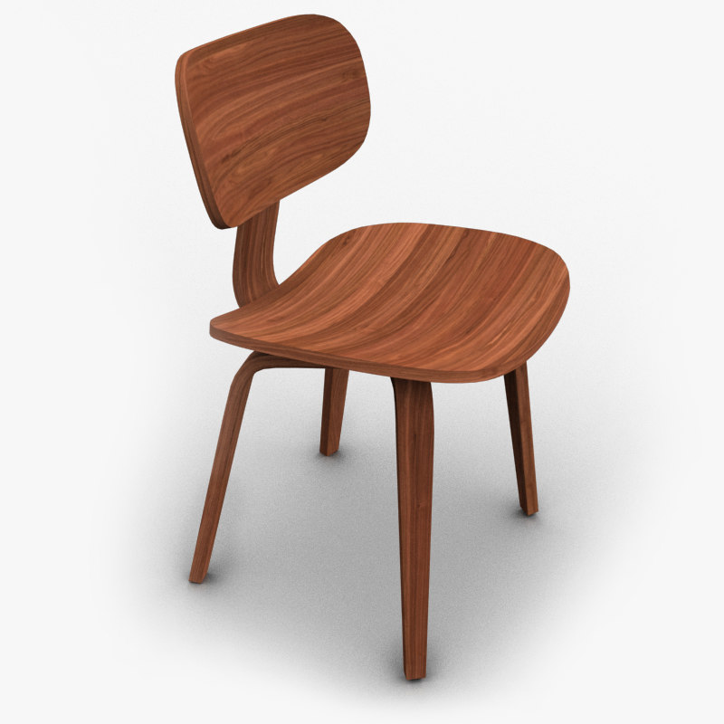 modern chair 3d x