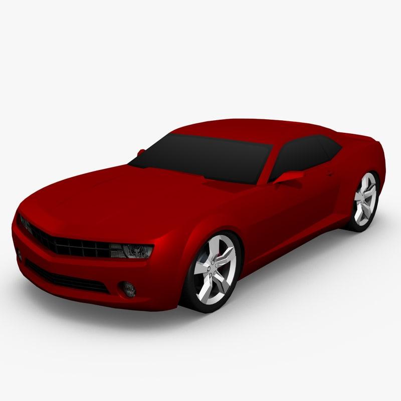2010 chevrolet camaro 3d 3ds