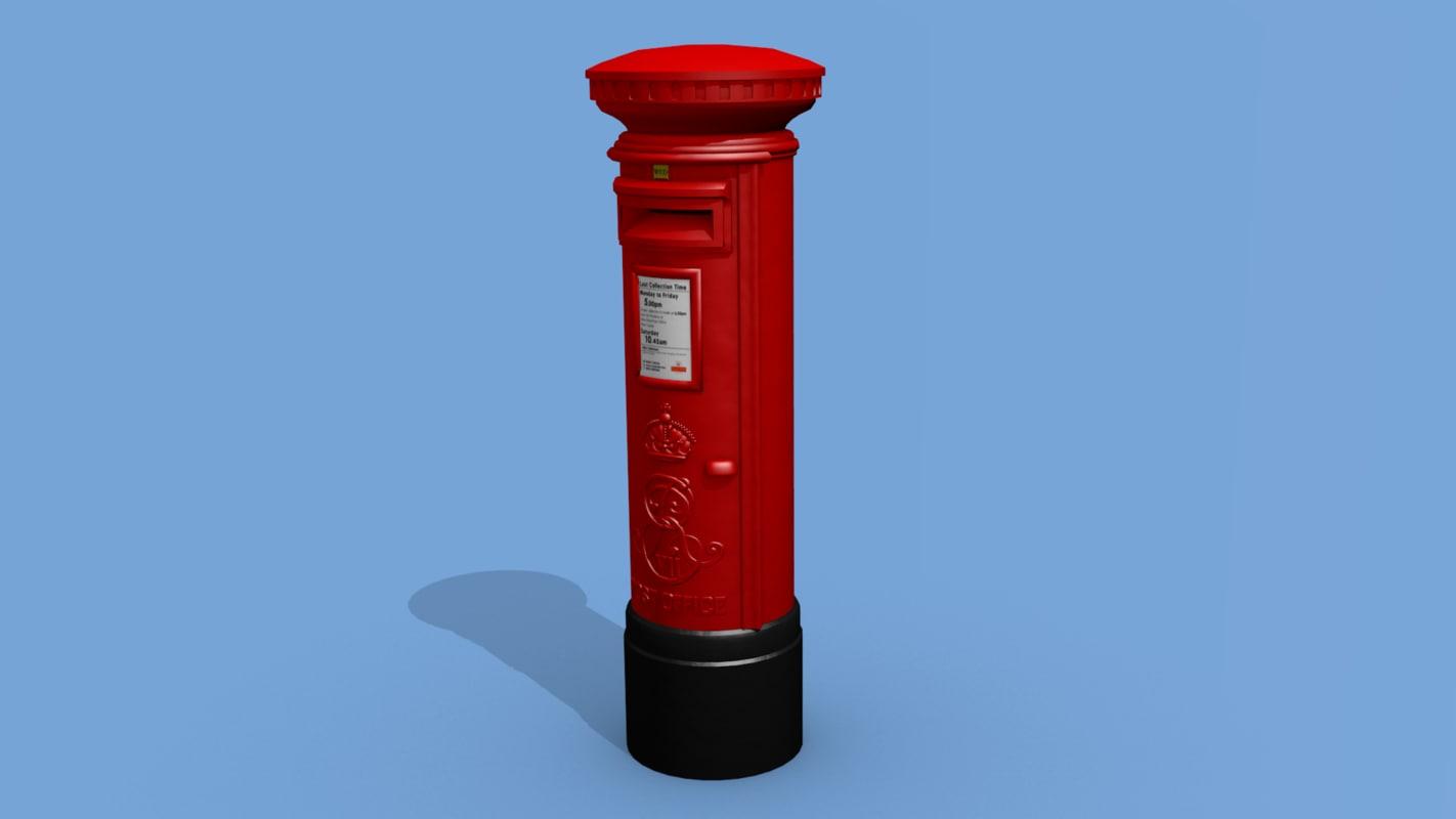obj uk postbox