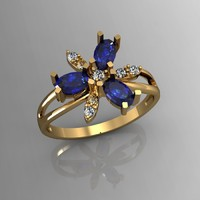 3ds max simple ring
