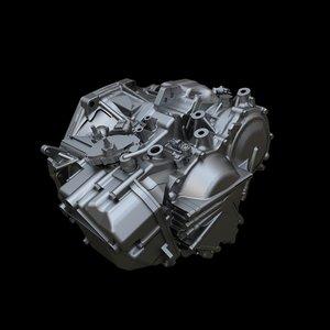 3d model gearbox