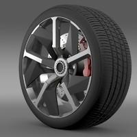 Lamborghini Aventador J wheel