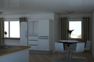 loose interior 3d model
