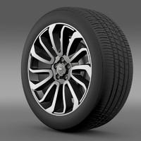 RangeRover V8 wheel