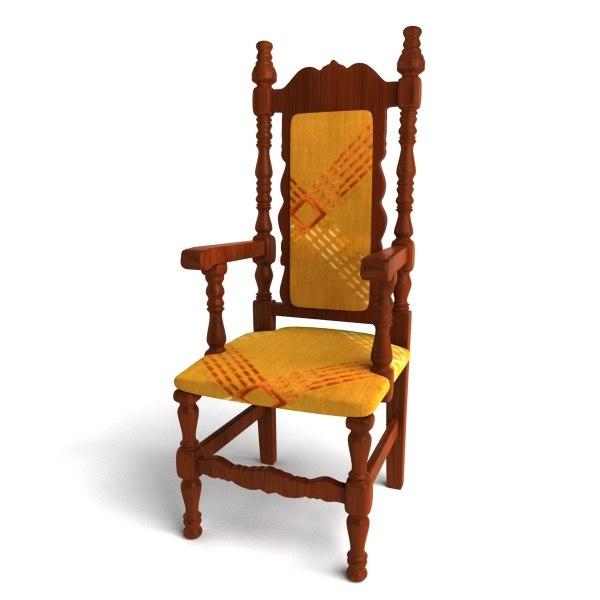 obj chair antique
