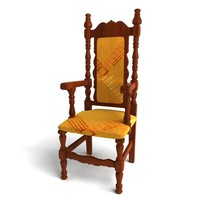 obj chair antique