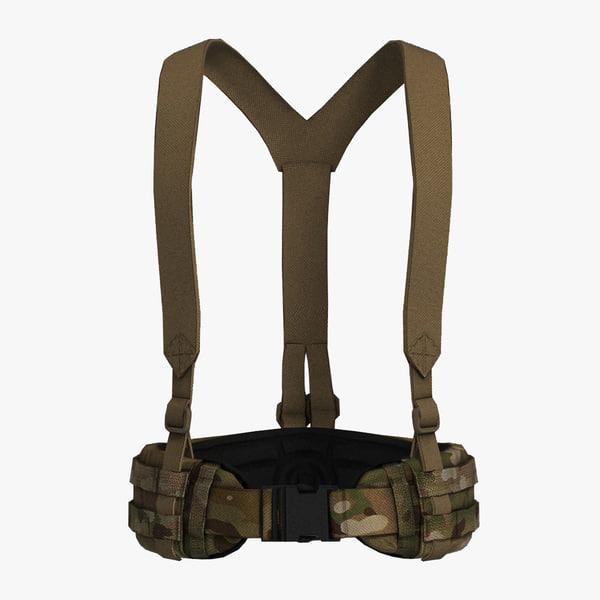 blast belt suspenders obj