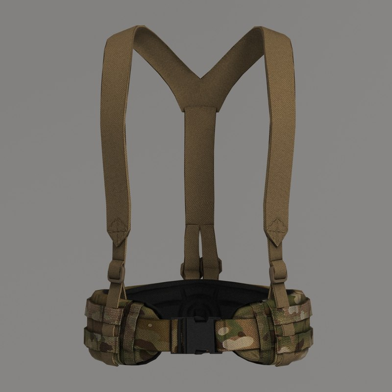blast belt suspenders obj