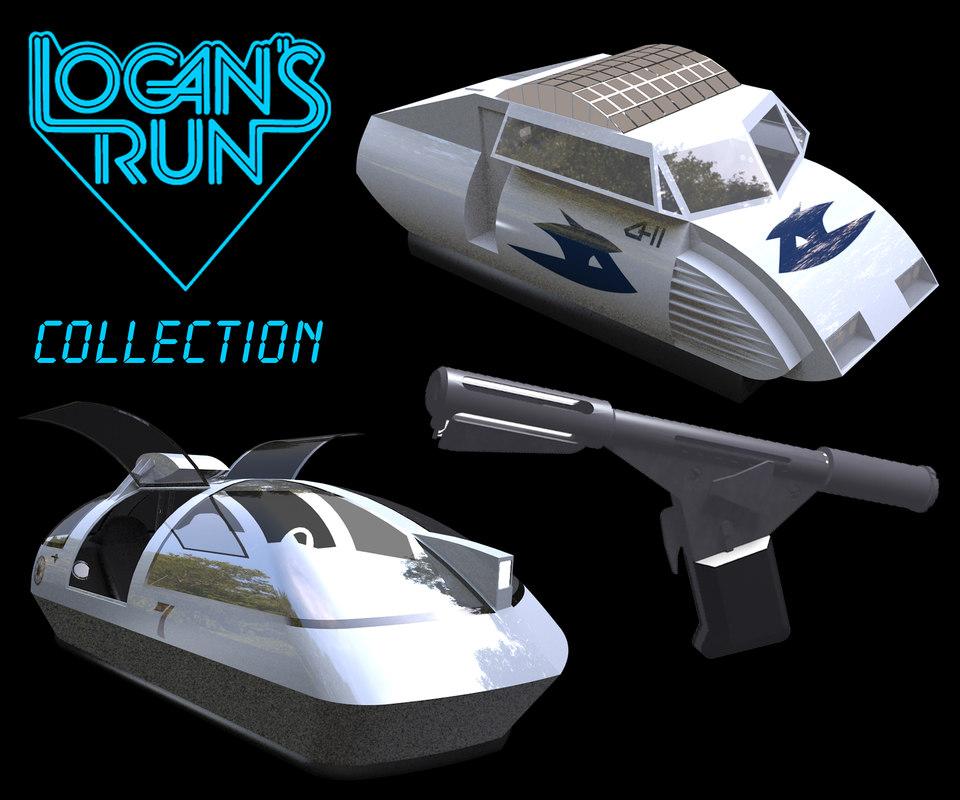 logan´s run 3d model