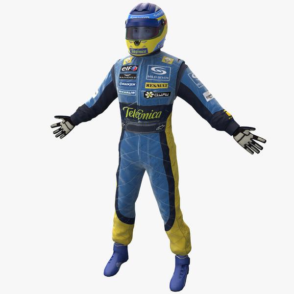 racing driver renault rigged max