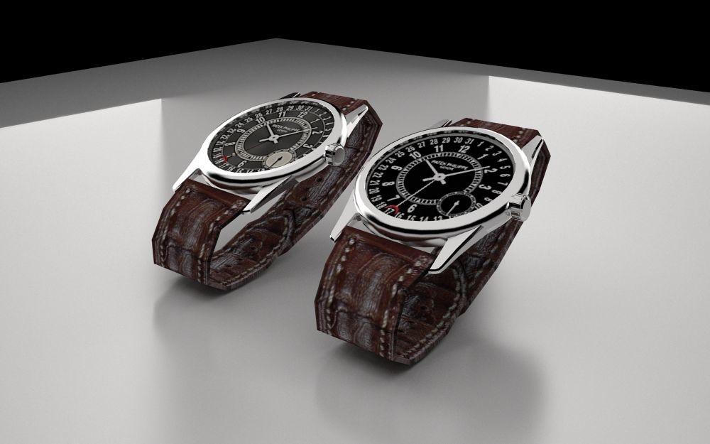 3d model of watch